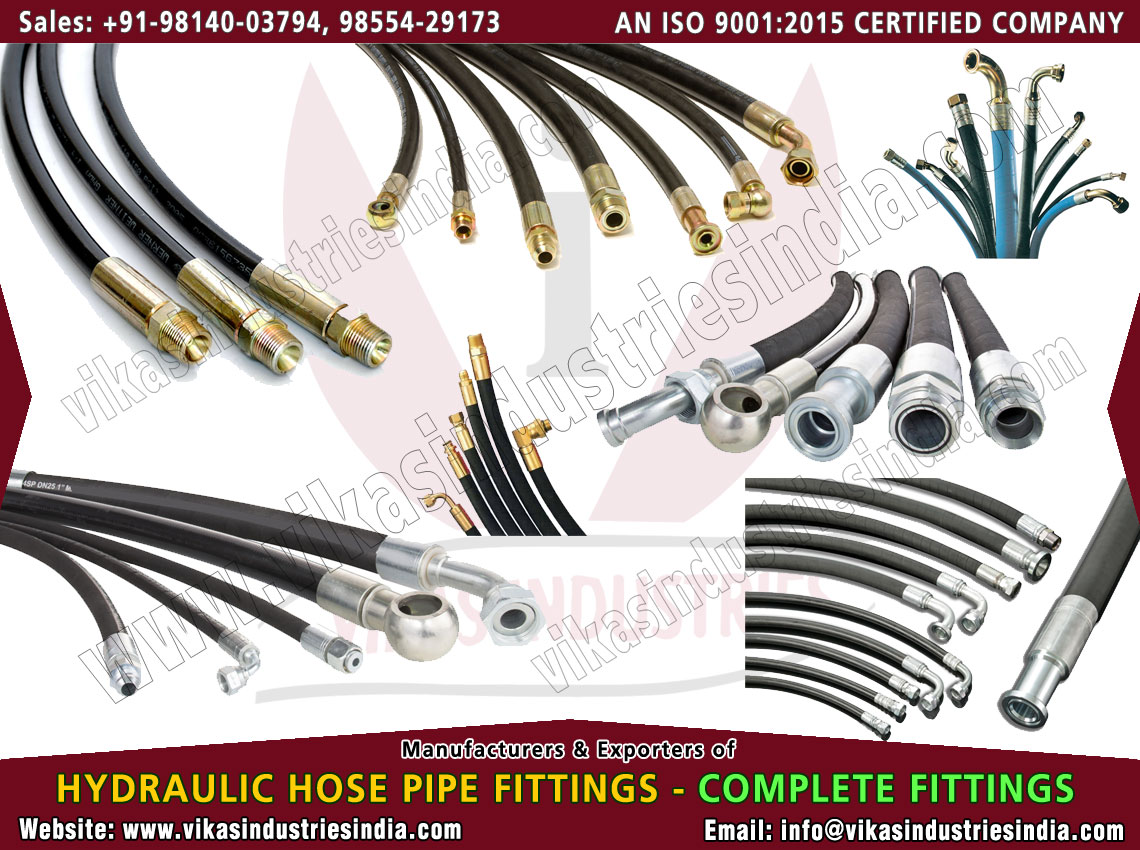 High Pressure Hose Fittings manufacturers suppliers exporters distributors dealers from India punjab ludhiana