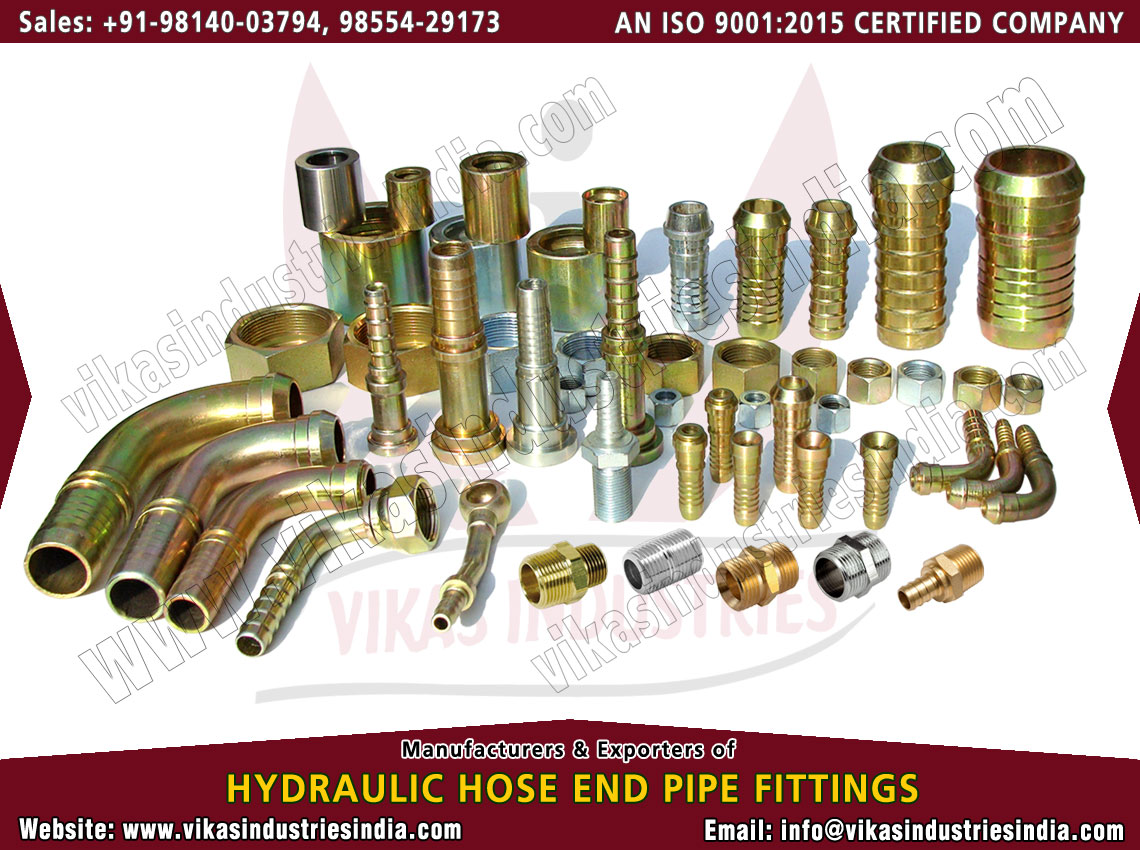 Complete Hydraulic Hose Pipe Fittings manufacturers suppliers exporters distributors dealers from India punjab ludhiana