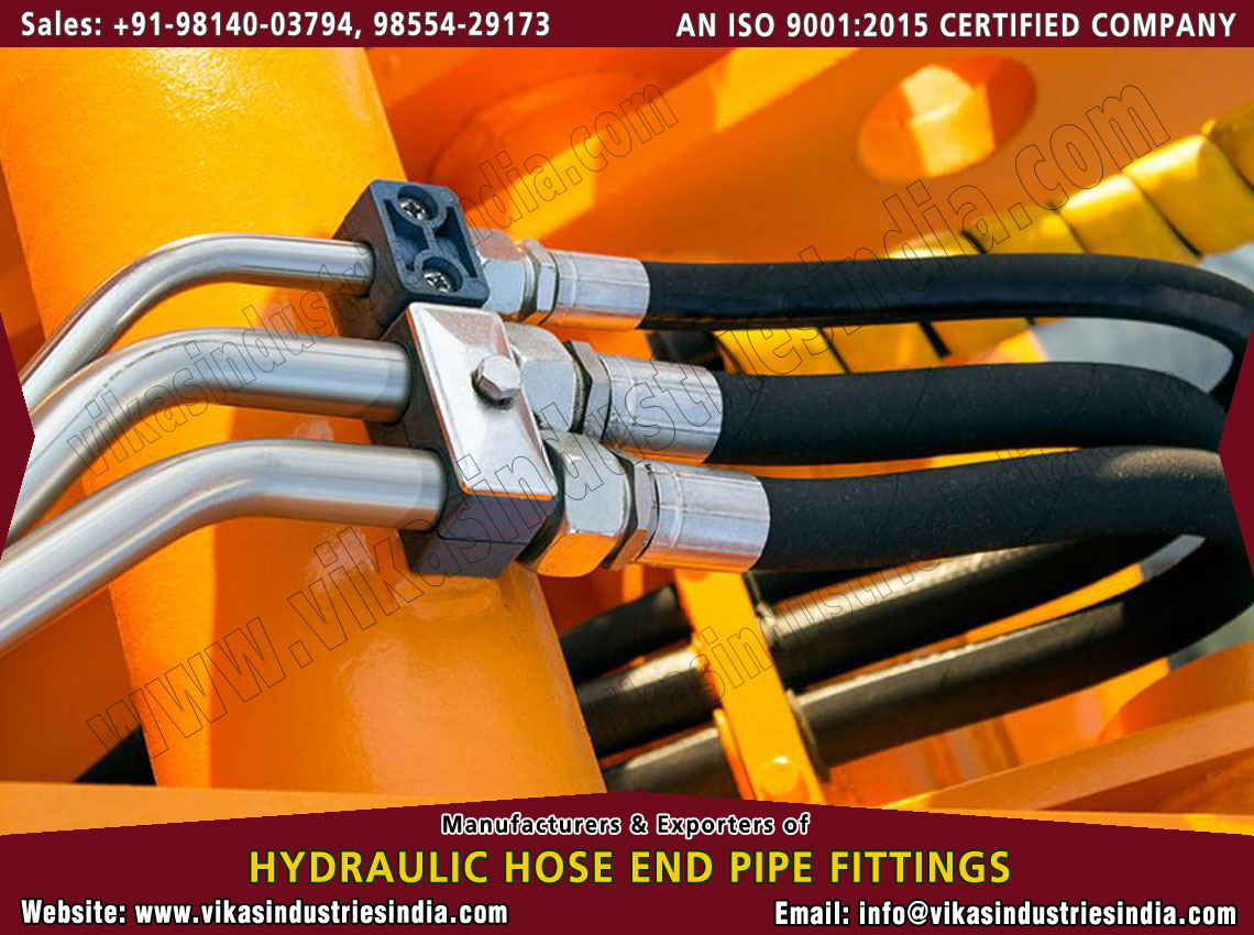 Earth Moving Hydraulic Hose Fittings manufacturers suppliers exporters distributors dealers from India punjab ludhiana