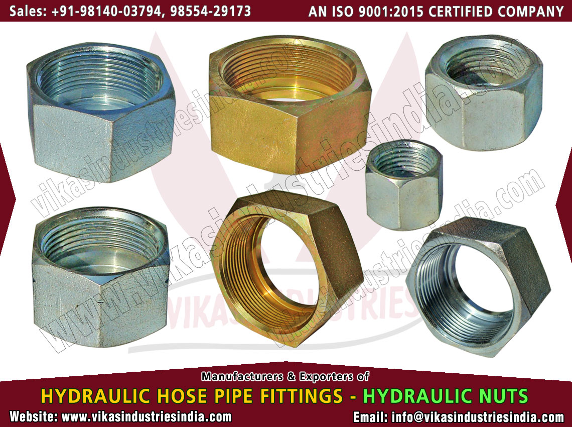 Hydraulic Nuts manufacturers suppliers exporters distributors dealers from India punjab ludhiana
