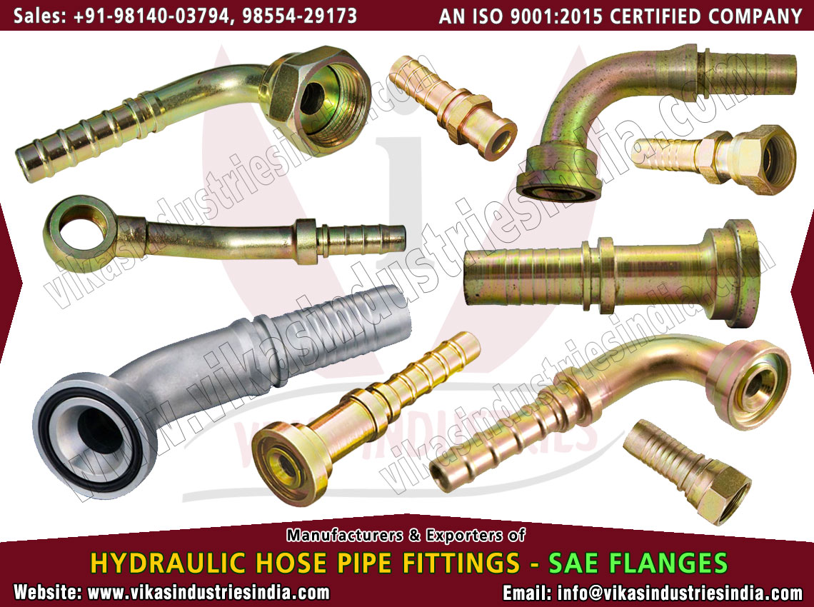 Hydraulic SAE Flanges manufacturers suppliers exporters distributors dealers from India punjab ludhiana