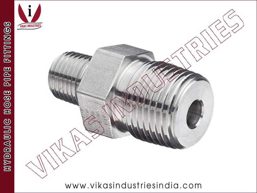Hydraulic Adaptor / Hydraulic Union / Hex Nipple